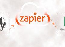 שליחת פרטי טופס מהאתר לגוגל דרך Zapier